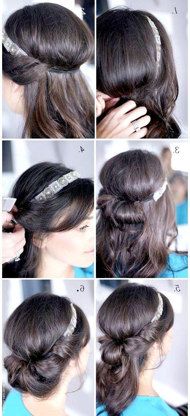 Як зробити зачіску з пов`язкою фото покроково