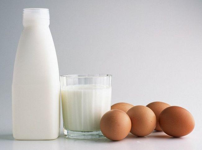 Кефір і яйця