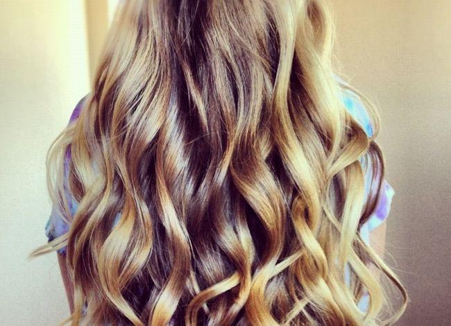 Довгі густі волосся