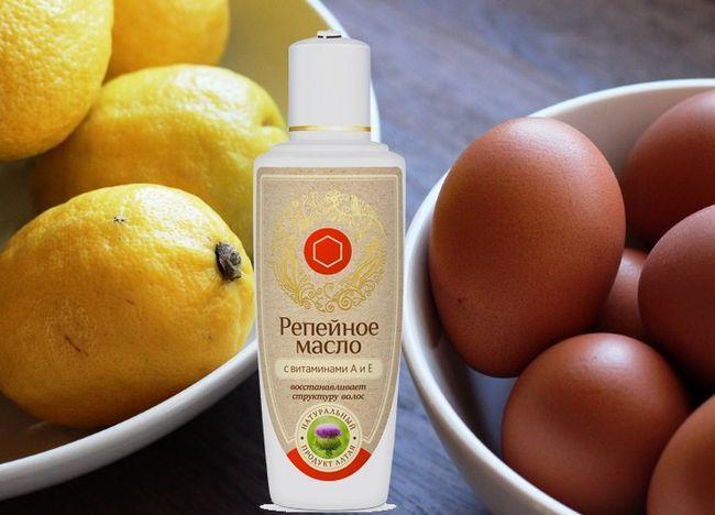 Яйця, лимони і реп`яхову олію