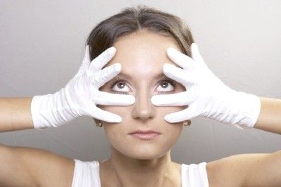 Вправи для області очей