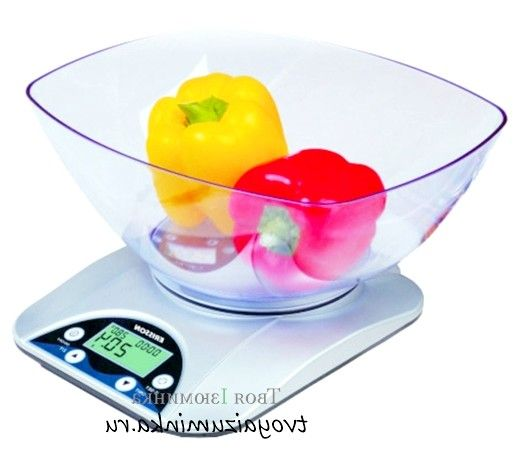 Як вибрати кухонні ваги