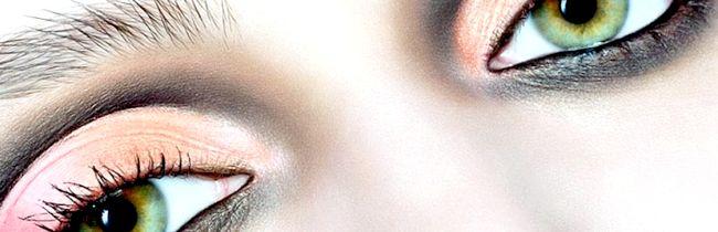 Якого кольору підійдуть тіні для сіро-зелених очей?