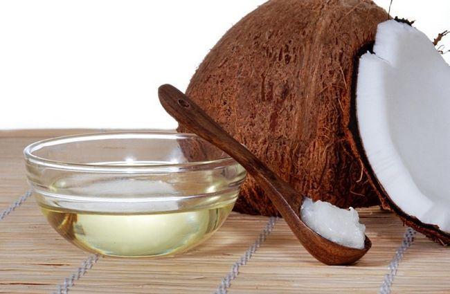 Рідке масло кокосоа і батерф