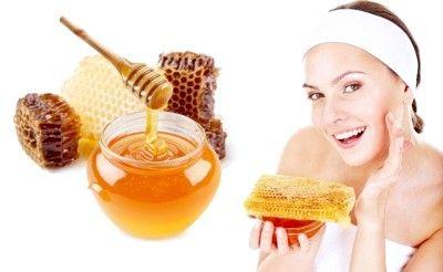 Лікувальна маска їх мигдалю і меду