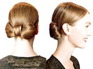 Як укласти довге волосся в бант