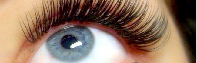 Причини і лікування червоних очей після нарощування вій