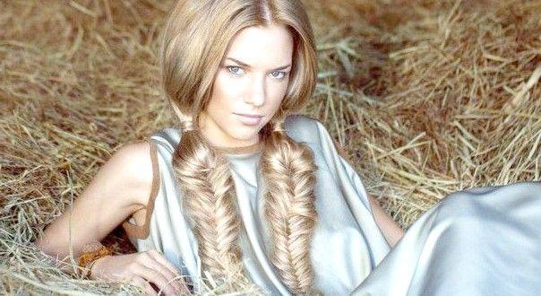 Плетіння на довге волосся