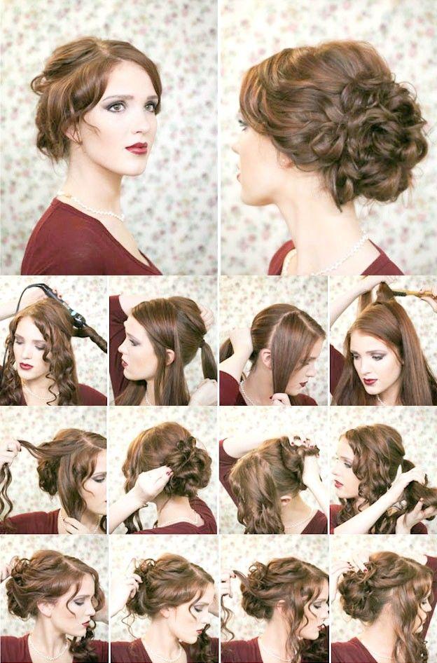 Зачіски на Новий рік 2015 своїми руками фото